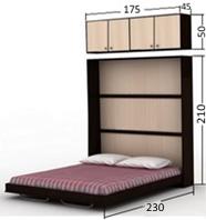 قیمت مدل های تخت خواب تاشو دیواری ارزان